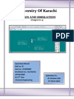 Design & Simulation (Assign 4)