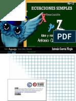 Ecuaciones simples