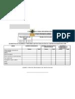 Formula Rio Para ion Del Filtro Escolar