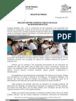 15/07/13 Germán Tenorio Vasconcelos REALIZAN SÉPTIMA AUDIENCIA PÚBLICA DE SALUD EN SANTIAGO MATATLÁN (1)