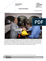 17/07/13 Germán Tenorio Vasconcelos TOMA PROTESTA GTV A COMITÉ DE PROTECCIÓN CIVIL