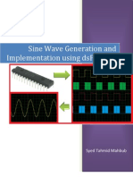 Sine Wave Generation and Implementation using dsPIC33FJ