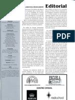 Editorial y sumario Nº 26 (marzo 2011)