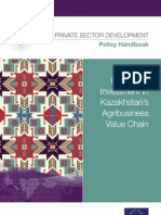 Promoting Investment in Kazakhstan's Agribusiness Value Chain