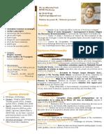 CV Daphné LAPIE