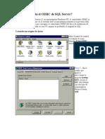 Cómo se instala el ODBC de SQL Server