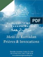 Mois de Ramadan Prières