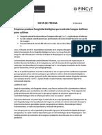 Nota de Prensa Novagri Fincyt