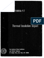 Panel O-28 Ships Mat.thermal Insulation R.dec.1963.T-R