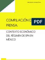 CONTEXTO ECONÓMICO DEL RÉGIMEN DE EPN EN MÉXICO