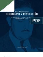 John W. Cooke - Peronismo y Revolucion