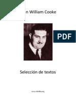 John W. Cooke - Seleccion de Textos
