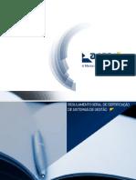 APCER - Regulamento Geral de Certificação de Sistemas de Gestão