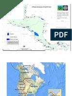 Puertos de Centroamerica