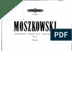 Moszkovski Piano sheet music