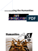Introducing the Humanities