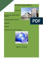 Informe # 2 Internet