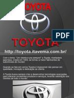 CONCESSIONÁRIA TOYOTA