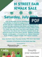 Wilton Street Fair and Sidewalk Sale - Saturday July 20th