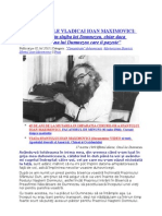 Din Scrisorile Vladicai Ioan Maximovici