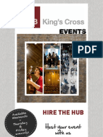 HUB King's Cross Events Brochure 2013_Final