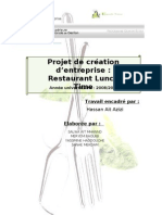 Rapport de Projet Restaurant Lunch Time
