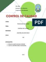 Control de Calidadhh