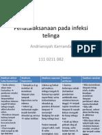 Idk Case 4 Penatalaksanaan Infeksi Telinga