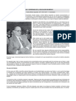 ESTADO Y ESPERANZA DE LA EDUCACIÓN EN MÉXICO REVISTA