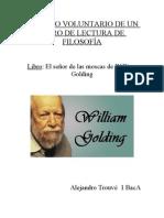 TRABAJO VOLUNTARIO DE UN LIBRO DE LECTURA DE FILOSOFÍA
