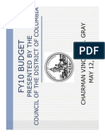 Budget Presentation 051209
