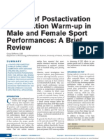 Effects of Postactivation Potentiation Warm Up in.7