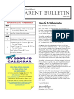 ES Parent Bulletin # 19 (May 15)
