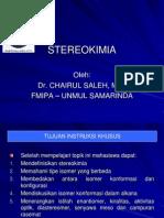 Kimia Organik 1.5 - Stereokimia
