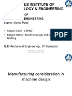 38177938 Manufacturing Consideration in Machine Design