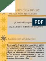 Clasificacion de Los Dh