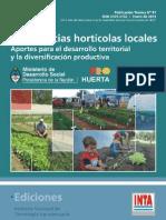 INTA- Experiencias Horticolas Locales