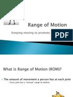 Range of Motion Presentation