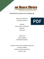 Port a Folio de Evidencias de Aprendizaje