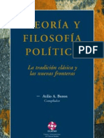 Teoria y Filosofia Politica