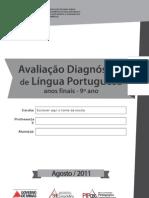 AvaliaçãoLínguaPortuguesa9ºano