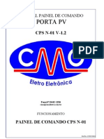 Manual Porta Automatica CPS N-01 v-1.2