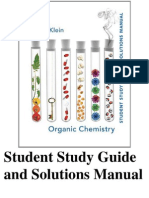 Organic Chemistry By David Klien - Solution Manual