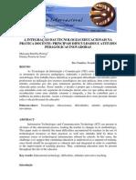 A Integracao Das Tecnologias Educacionais Na Pratica Docente Principais