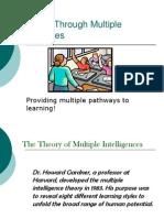 Teaching Through Multiple Intelligences2
