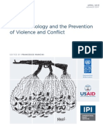New Technology and Prevention of Violence and Conflict
