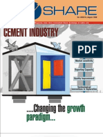 V Share Vol 42 Cement Sector August 2008