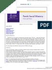 June 2013 Parish Social Ministry News and Notes