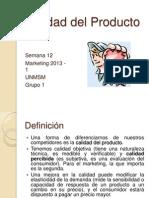 146496824 Calidad Del Producto Pptx