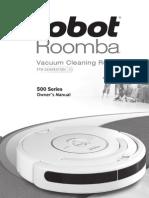 Roomba 500 Series Manual
